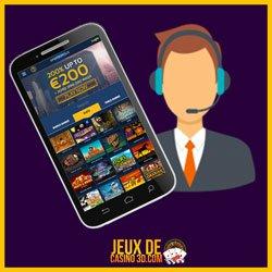 Jeux mobile et service clientèle